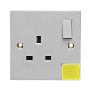 Emergency Light Socket (1 Gang)