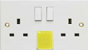 Emergency Light Socket (2 Gang)